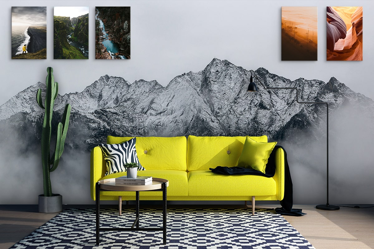 It is time to renovate your space with poster & wallpaper 2