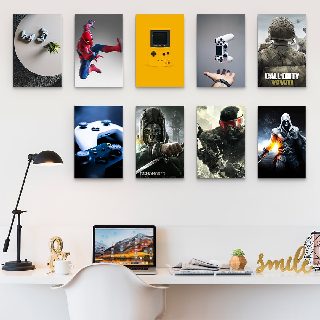 Home office is in trend – Setup Home office with Magic Posters.