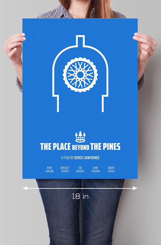 Place Beyond the Pines Minimal Movie Poster 3